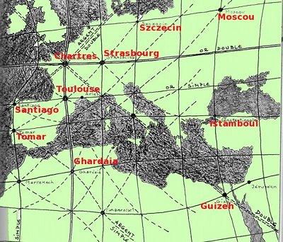 réseau de l'or en Europe