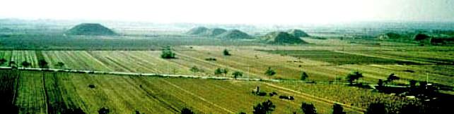 Pyramides de Xian